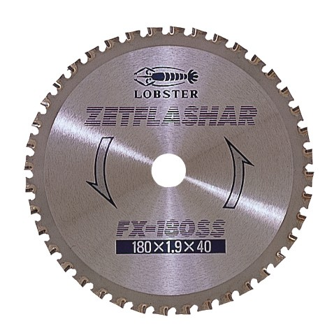 ZET FLASHAR FX-SS (For ironworking) φ180 mm