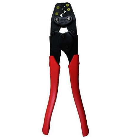 Crimping tool  AK19A  For non-insulated terminals for copper wire. For non-insulated sleeves for copper wire.