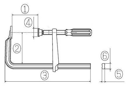 L-type Clamp  WS